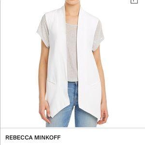 Rebecca Minkoff Kenny Silk Vest' in White